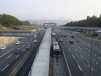 Edirnekapı Station Overpass Renewed