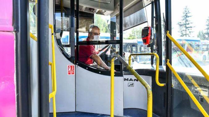 Pandemic Measures Increased in EGO Buses