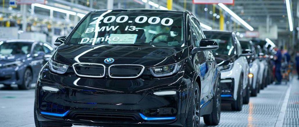 Elektrikli BMW i3 Modelinin 200 Binincisi Banttan İndi