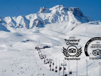 Travellers Choice Award 2020 voor skiresort Erciyes