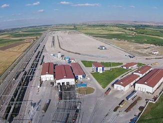 Het project om de Eskişehir-industrie met havens te verbinden begint