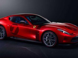 Ferrari Omologata Singurul de acest gen