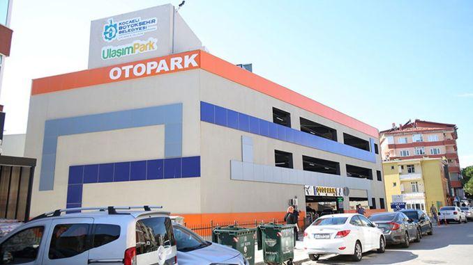 Wielopoziomowy parking w Gebze jest preferowany przez mieszkańców