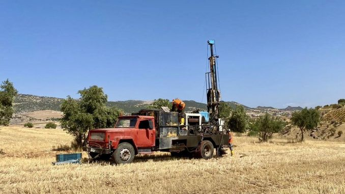 Drilling Works Started in Gölbaşı Adıyaman Kahta High Speed ​​Train Survey Project Work