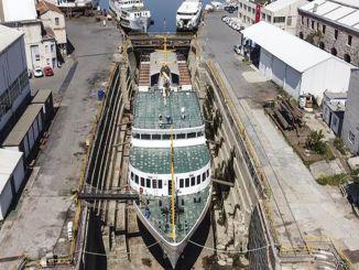 45 Ships Under Maintenance In One Year At Haliç Shipyard