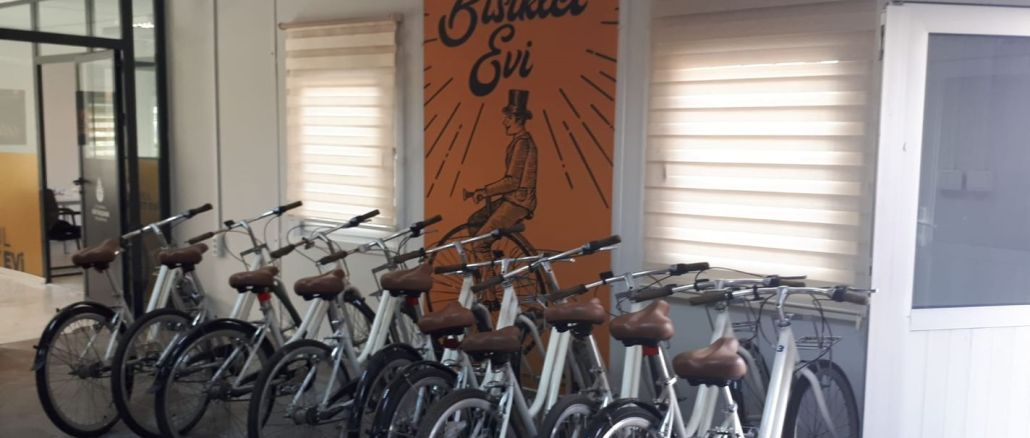 İstanbul Bisiklet Evi Yenikapı'da Açıldı