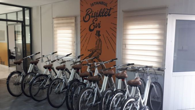 Istanbul Bicycle House a ouvert ses portes à Yenikapı