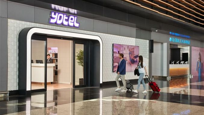 YOTEL Comfort on Land и Air Side в аэропорту Стамбула