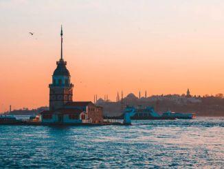 Temperatuur in Istanbul boven seizoensnormen