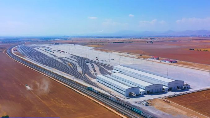 Kayacık Logistics Center is vandaag geopend