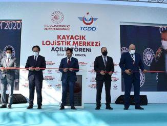 Konya Kayacık Logistics Center Opened with a Ceremony