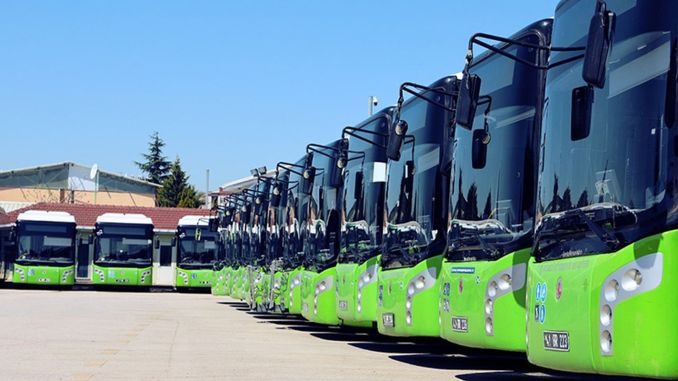 7 Companies Bid For Kocaeli Bus Purchase Tender