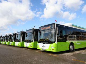 Kocaeli's transportvloot breidt uit! 109 nieuwe generatie bussen aan te schaffen