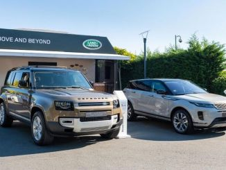 Land Rover Pop-Up Showroom di Istanbul pada bulan Oktober