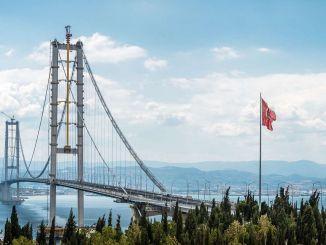 Er is een garantie van 1,75 miljard lira betaald aan de Osmangazi-brug