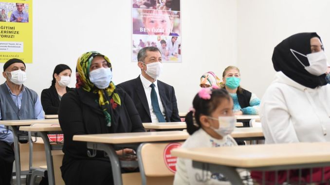 Parents of Children with Special Needs Also at the Beginning of Class