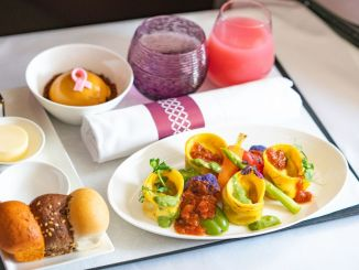 Qatar Airways Introduces First Full Vegan Menu