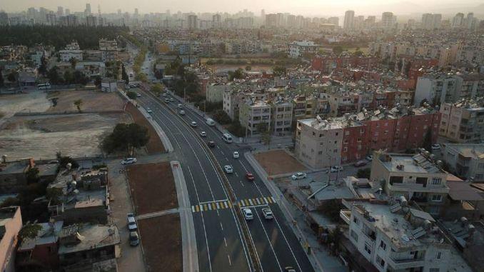 Rıfat Uslu Street Opened as a Double Road