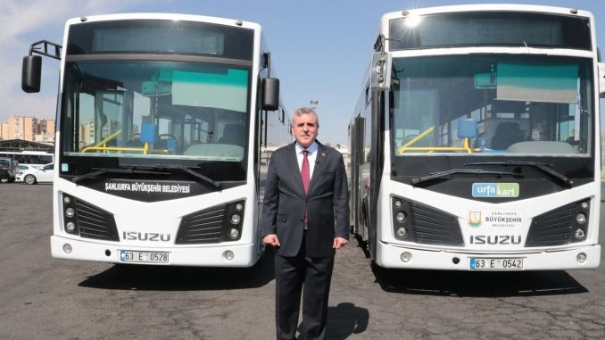 Şanlıurfa Metropolitan Revising Buses to Be Scrapped