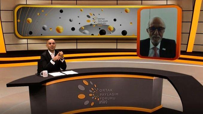Erol Ki̇resepi̇, prezes zarządu Santa Farma İlaç, przemawiał na forum Joint Sharing