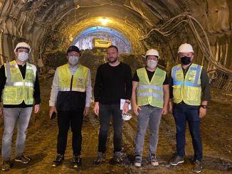 General Manager TCDD Periksa Pembangunan Terowongan YHT T26 Uygun Sakarya