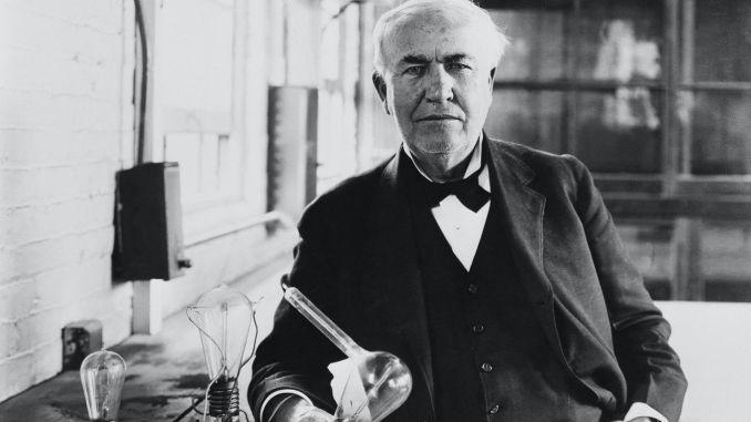 Ko je Thomas Edison