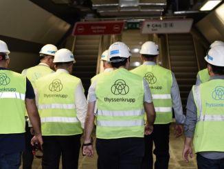 Thyssenkrupp Asansör, 이스탄불 지하철 2 개 노선에 엘리베이터 및 에스컬레이터 공급