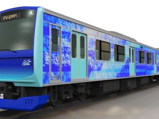 Ang Toyota, Hitachi ug East Japan Railway Maghimo Mga Hybrid Railway Vehicle