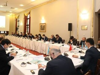Medlemmer af Trans-Caspian International Transport Route International Union mødes i Sirkeci