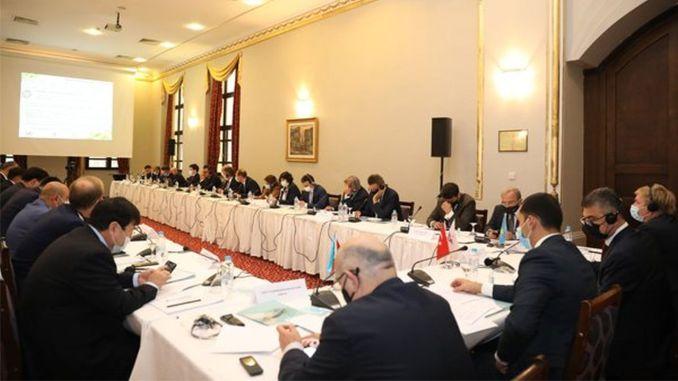 חברי האיחוד הבינלאומי בדרך התחבורה הטרנס-כספית נפגשים בסירקצ'י