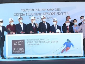 Turkey's Largest Mountain Hotel Xperia Basis of Erciyes Mountain Resort Atıldı