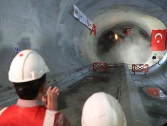 Last Tunnel Opened in Ümraniye Ataşehir Göztepe Metro Line