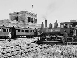 Lịch sử đường sắt Jaffa Jerusalem