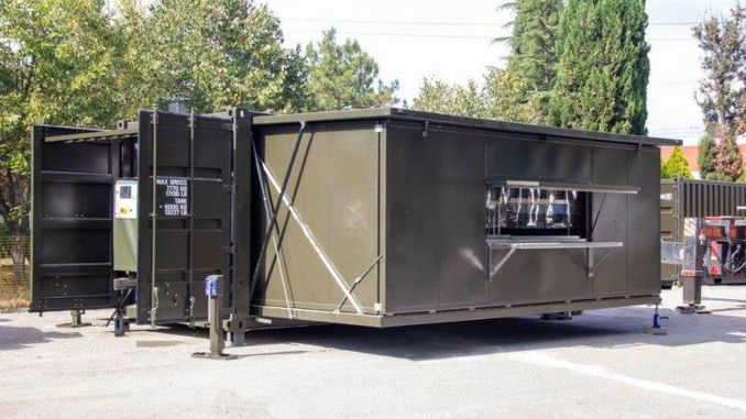The First Set of New Generation Field Living Units Delivered to Turkish Armed Forces