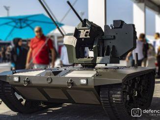 Oras ng Pagsisimula para sa Middle Class Unmanned Ground Vehicle O-İKA 2 Project