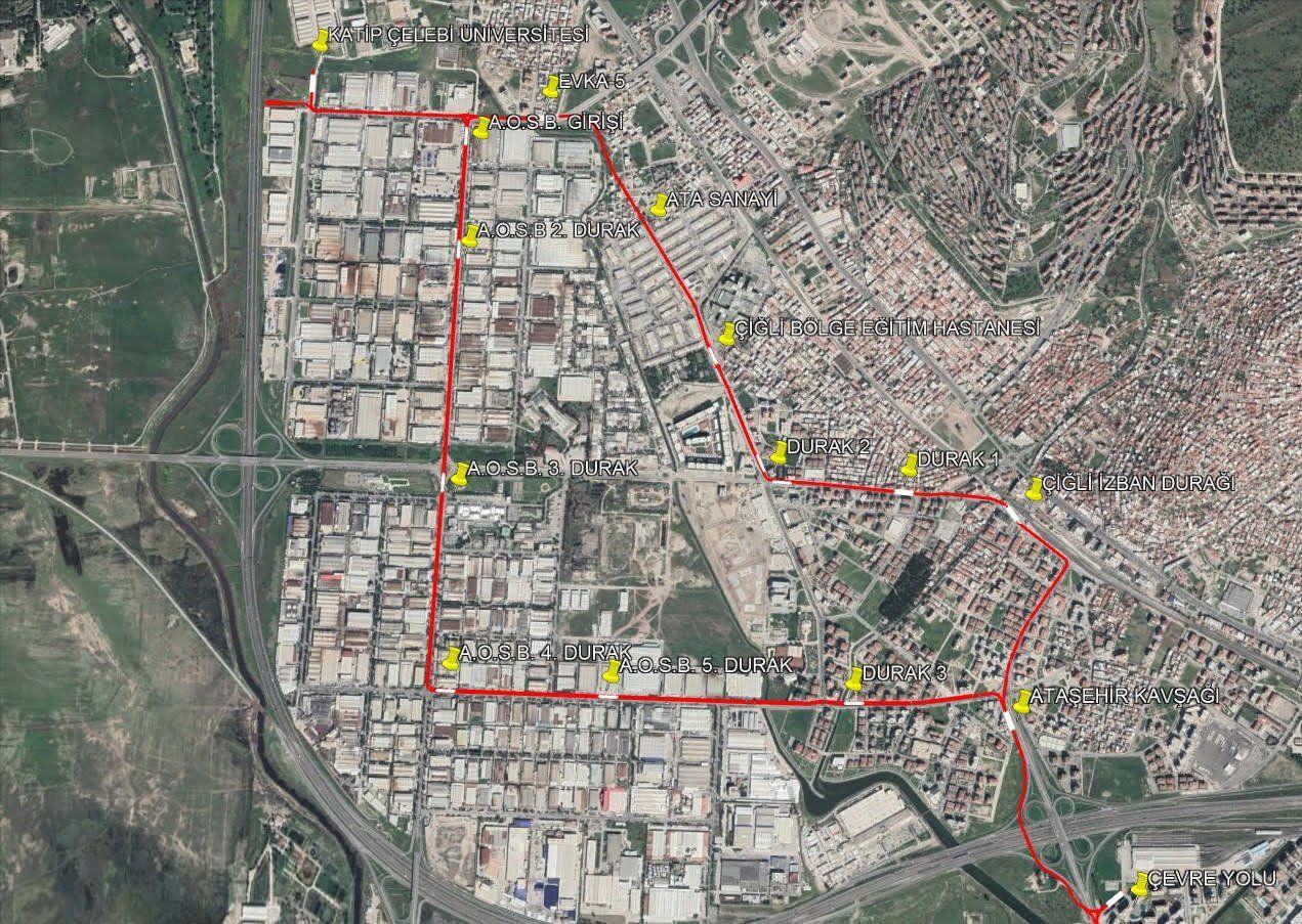 Трамвайная карта Цигли