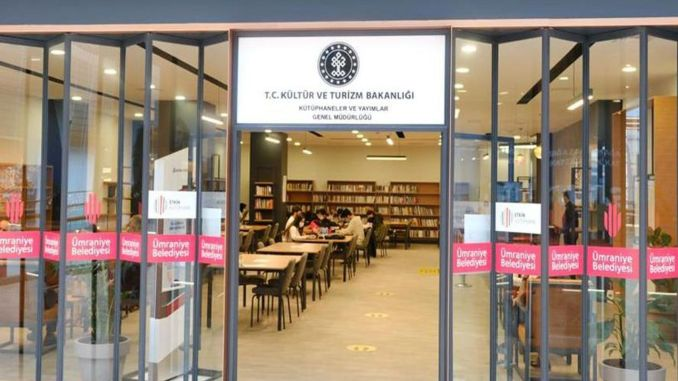 Another Shopping Mall Library from the Ministry of Culture and Tourism
