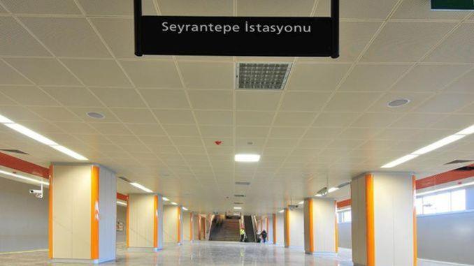Seyrantepe স্টেশন