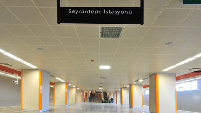Seyrantepe station
