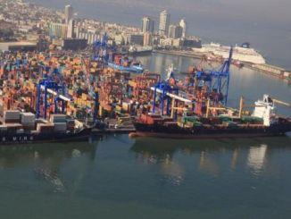 Alsancak Hafen für Ro Ro Schiffe geöffnet