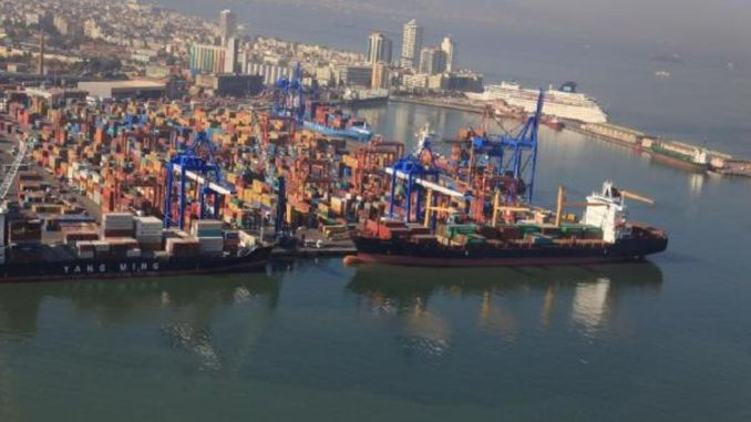 alsancak port opened to ro ro ships