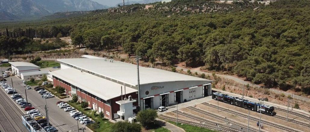 GES asutatakse hoonena Antalya transpordis