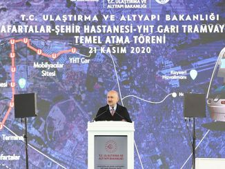 we will introduce minister karaismailoglu kayseri with fast railway