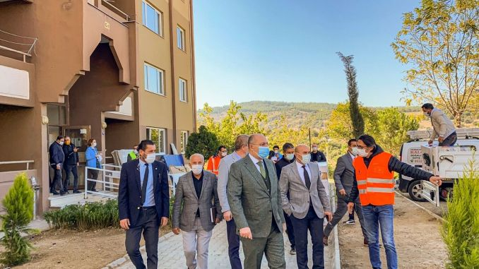 President Soyer invited earthquake victims to residences in long distance