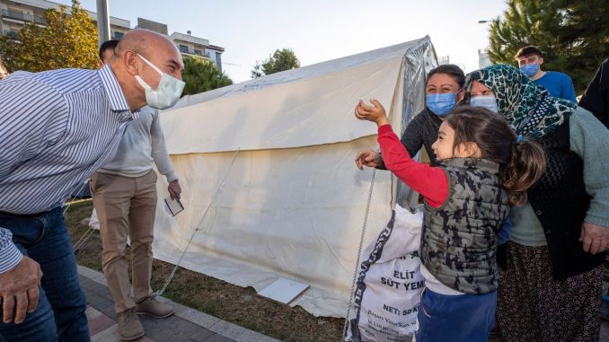 president soyer houses visited earthquake victims