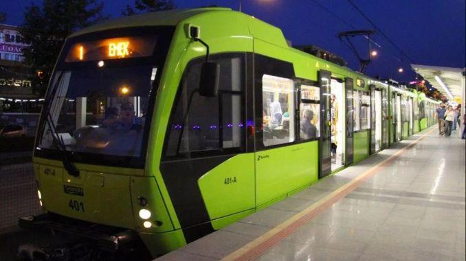 първо копае на метрото на градската болница в Бурса