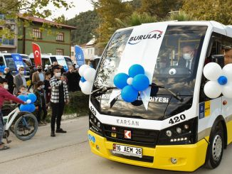 Microbus to the transportation fleet of bursan