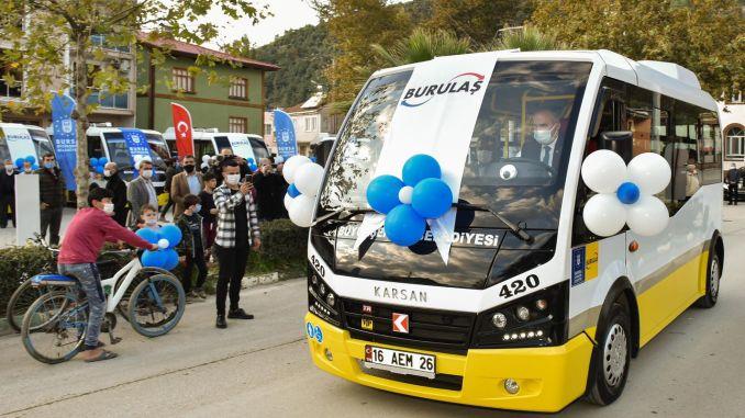 Microbus to the transportation fleet of bursan