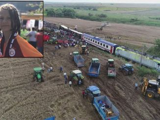The message of misra selin, who lost her son in the corlu train disaster, was read on the tbmm.