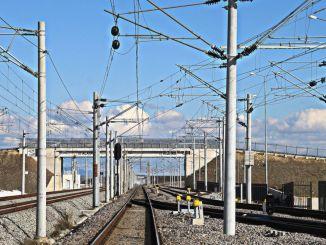 Trabajo de compra de material de repuesto de electrificación ferroviaria